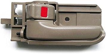 Front = Rear Beige Inner Door Handle LH 2003-2008 Toyota Corolla 05-12 Tacoma