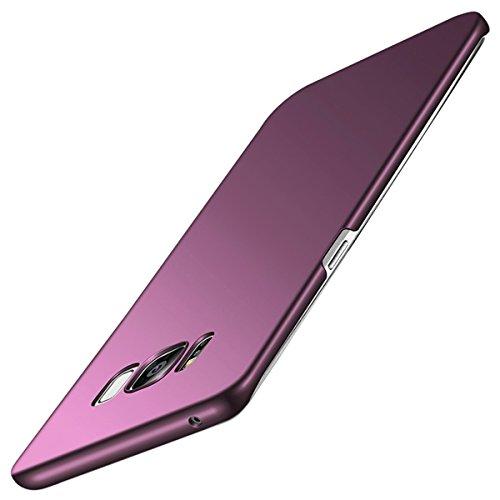vanki Coque Galaxy S8 Plus, Ultra Mince Lgre Premium Matte Surface Lisse pour Samsung Galaxy S8 Plus Case Vin Rouge