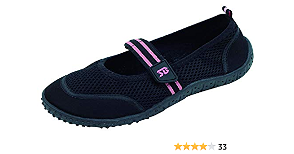 Sunville Womens Slip-On Water Shoes