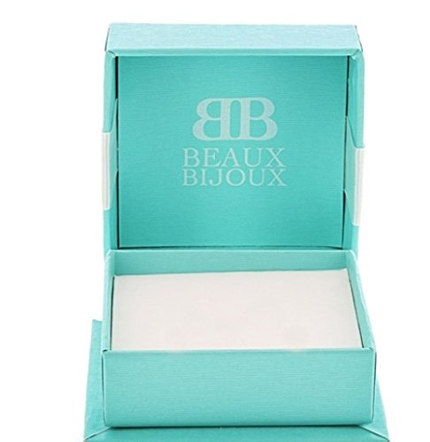 Sterling Silver Italian High Polish Curved Bar Threader Earrings by Beaux Bijoux (Image #4)