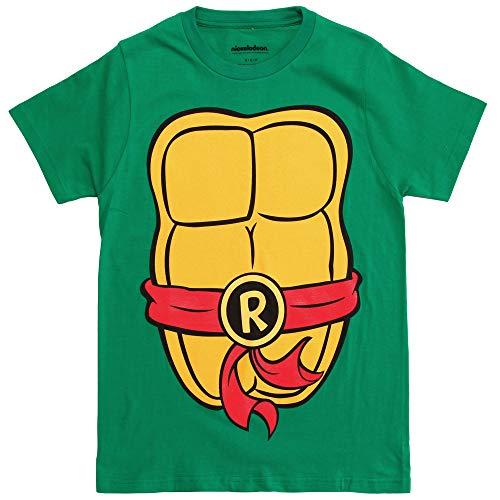 Nickelodeon Teenage Mutant Ninja Turtles TMNT Mens Costume T-Shirt (XXXL  Raphael)