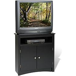 Prepac Sonoma Corner TV Cabinet, Black