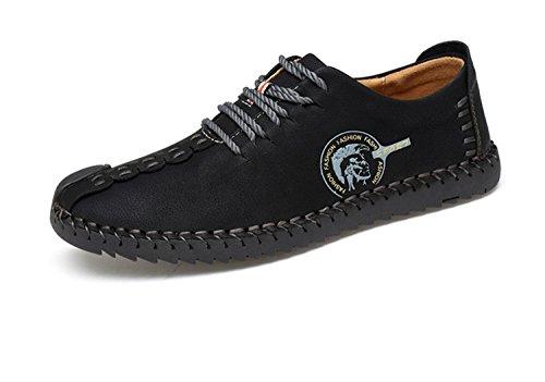 Quguangyan Quguangyan Quguangyan Fashion Comfortable Casual Shoes Loafers Men Shoes Quality Split Leather Shoes Men Flats bc711b