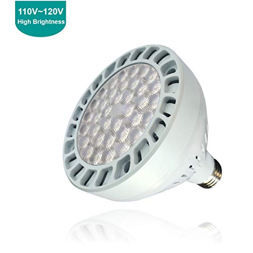 (TOVEENEN LED Pool Light 45W 4200lm White Light 6500K Replacement for Incandescent Bulbs in Pool Light (120V,45W))