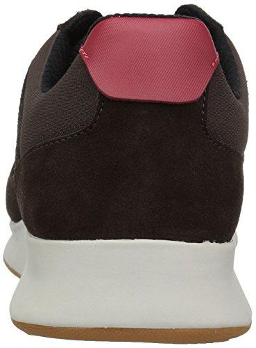 Lacoste Heren Joggeur 417 1 Sneaker Donkerbruin / Zwart