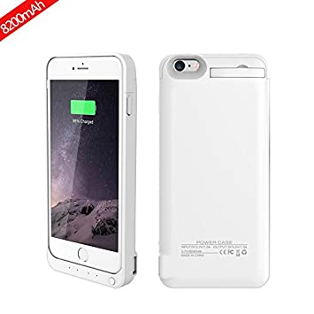 Banath iPhone 6 Plus/iPhone 6s Plus 8200mAh Funda Bateria ...