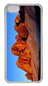 Customized iphone 5C PC Transparent Case - Evening In The Mountains Personalized Cover