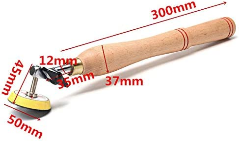 Shumo Wood Bowl Sander Sanding Tool with Sanding Disc for Lathe Wood Turning Tool Woodworking