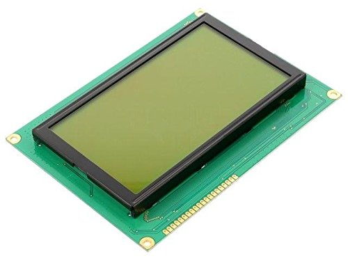 RG240128B-YHY-M Display LCD graphical STN Positive 240x128 green LED RAYSTAR OPTRONICS