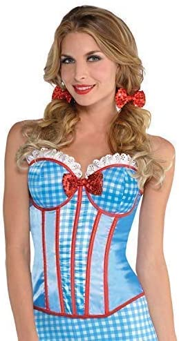 Ladies Cowgirl Cutie Wild West Carnival TV Book Fancy Dress Costume Outfit