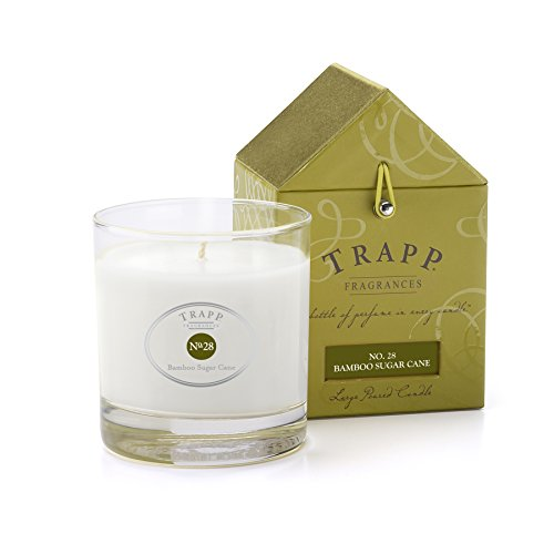 Trapp Signature Home Collection No. 28 Bamboo Sugar Cane Poured Scented Candle, 7-Ounce (7 Oz Sugar)