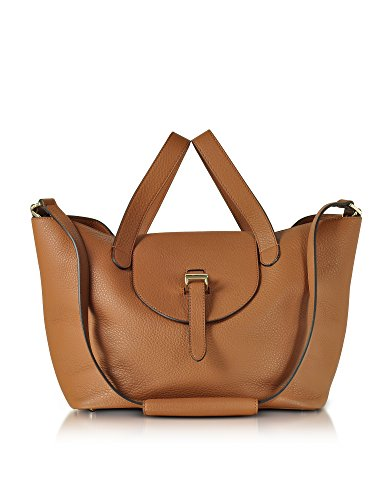 0202 Brown Leather Tote ()