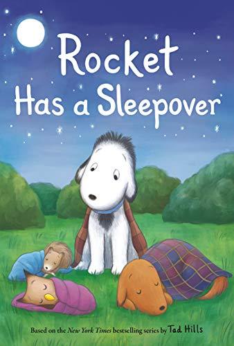 Book Cover: Rocket Has a Sleepover