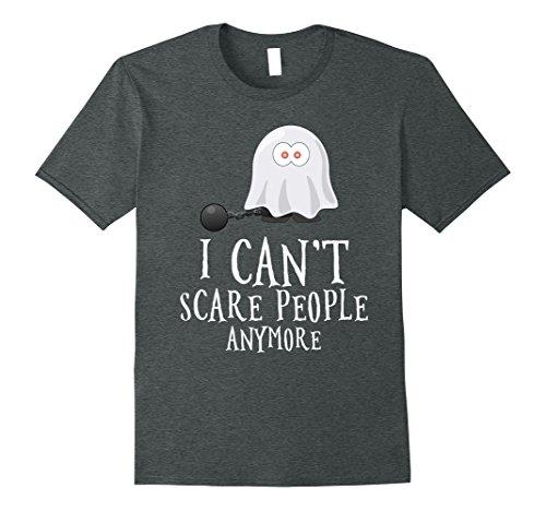 Old Person Couple Costume (Mens Funny sarcastic Halloween tshirt. Grandma grandpa funny gift 3XL Dark Heather)