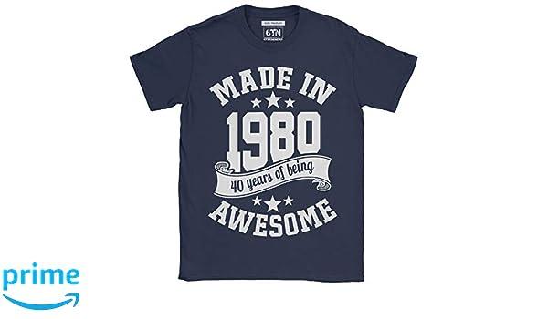 6TN Hombre Hecho en 1980 40 años de ser Impresionante ...