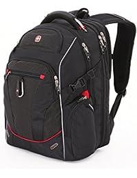 "SwissGear SA6752.Black White TSA Friendly ScanSmart Laptop Backpack, Fits Most 18"" Laptops and Tablets"