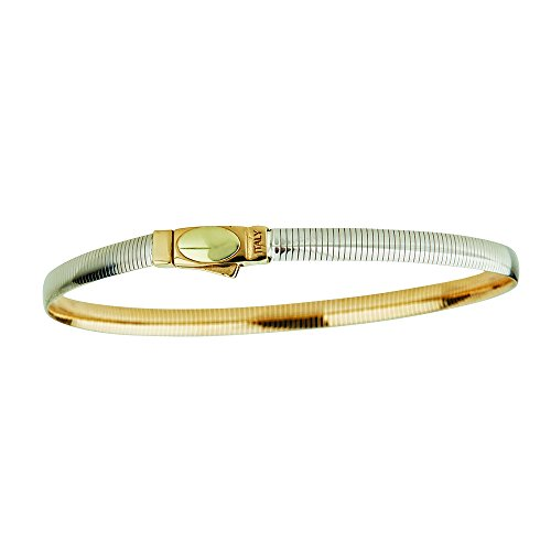 14K Two-Tone Gold Reversible 1