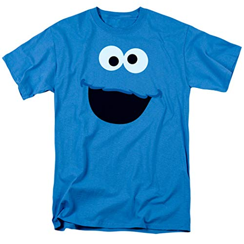Sesame Street Cookie Monster T Shirt & Exclusive Stickers (Medium)