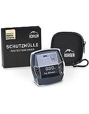 Borgen displaybescherming - geschikt voor Bosch Intuvia-beschermhoes - accessoires voor e-bike-display - 100% transparant, waterdicht - incl. displaytas/hoes gemaakt van neopreen