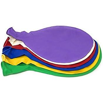 "6 Big Balloons - 36"" - Assorted Colors"