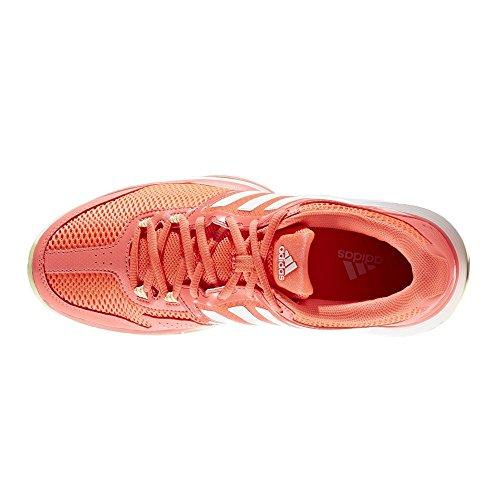 Coral Amahie Barricade Tenis W adidas Mujer Rojdes de Zapatillas para Club Ftwbla RqTBP8