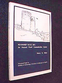 Hovenweep Rock Art: An Anasazi Visual Communication System (Occasional Paper 14)