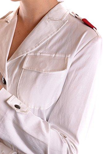 Donna Bianco Cotone Mcbi178007o Martina La Blazer ESq4wxX6