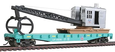 Walthers SceneMaster Tl Log Crane Union Pacific #19436 Train Collectable - Collectible Train Car