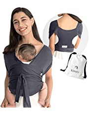 Konny Baby Carrier | Ultra-Lightweight, Hassle-Free Baby Wrap Sling | Newborns, Infants to 44 lbs Toddlers | Soft and Breathable Fabric | Sensible Sleep Solution