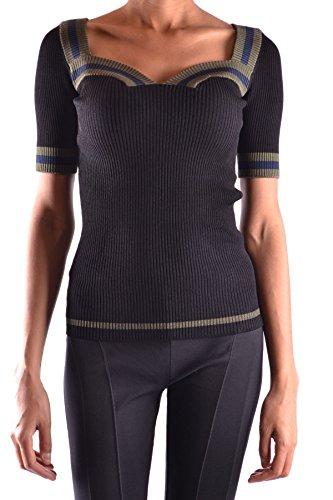 Prada Mujer MCBI244026O Negro Viscosa T-Shirt