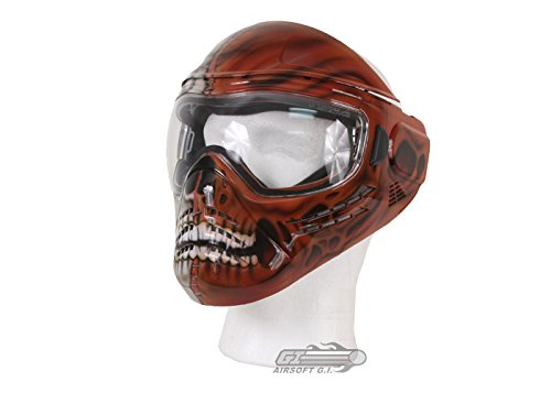 (Save Phace Tagged Series Carnage Tactical Mask with Face Stitched Up The Middle)