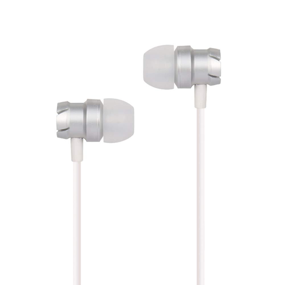 Dastrues Metal Worm Gear Bass Auricolari in-Ear Auricolari Wired Super Bass MP3 PC Cuffie per telefoni cellulari