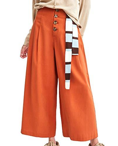 252 cropped 4432 Pantaloni Zara Donna bottoni qwUXXf