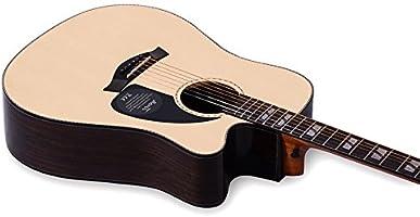 GFEI Solo de guitarra de abeto _ Junta Luz enchapado dorsal ...