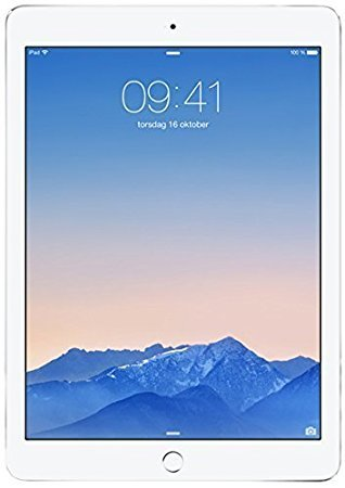 Apple iPad Air 2 MH2N2LL/A (64GB , Wi-Fi + 4G, Silver) NEWEST VERSION (Certified Refurbished)