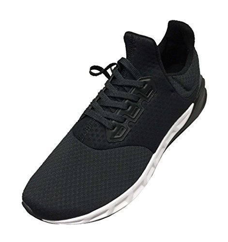 Adidas Men's Falcon Elite 5 m Running Shoes (9, Black/White)