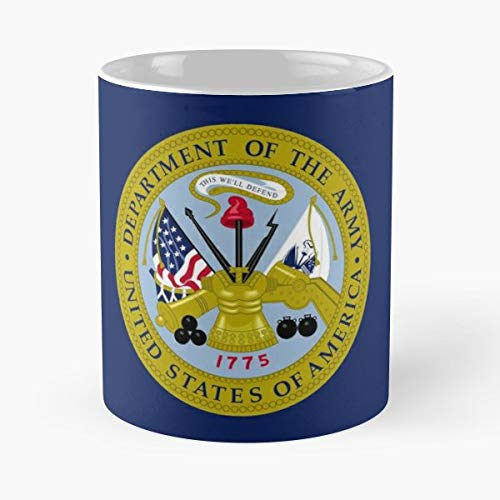 (Department Army Emblem 1775 - Funny Present For My Greatest Boss Male Or Female, Men, Women, Great Office Gift Mugs, Birthday, Leaving, Bold, Cup, 11 Oz)