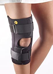 Corflex Anterior Closure Knee Wrap w/Stays OP POP 3/16\