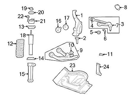 Amazon Com Mopar 52088653ae Spindle Knuckle Automotive