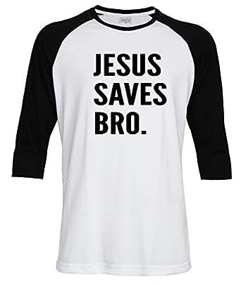 Amazon Com Jesus Saves Bro Men Women Unisex Christian