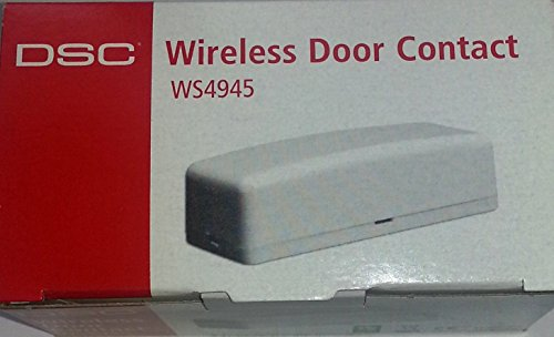 DSC SECURITY WS4945 WIRELESS ALARM DOOR/WINDOW CONTACT/TRANSMITTER
