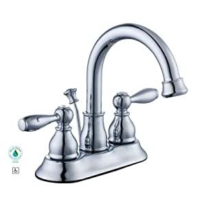 Glacier Bay Mandouri 4 In 2 Handle High Arc Bathroom Faucet In Chrome
