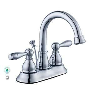 Glacier Bay Mandouri 4 In 2 Handle High Arc Bathroom Faucet In Chrome Am