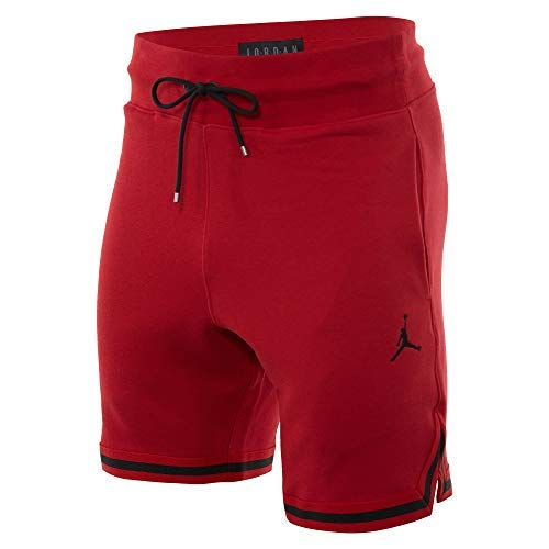 Jordan Sportswear Wings Lite 1988 Fleece Shorts Mens Style : AJ0438-687 Size : M Red/Black