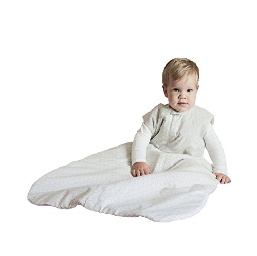 Price comparison product image Organic Sleep Sack Bag - Hemp Flax Cotton – 4 Seasons Wearable Blanket 6-24 mo