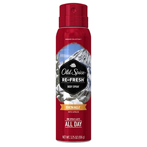Get Fresh Body Spray (Old Spice Fresh Collection Denali Men's Body Spray 3.75 Ounce)