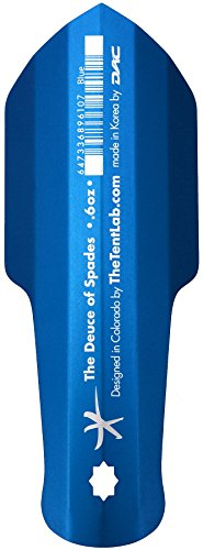 The Tentlab The Deuce of Spades Backcountry Potty Trowel, Blue , 0.6 ounces