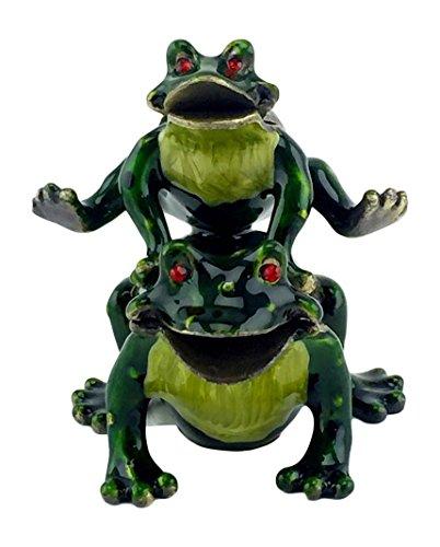 Enamel Frog Box - 5