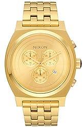 Nixon Star Wars C-3PO Gold Dial SS Chronograph Quartz Men's Watch A972SW-2378