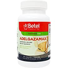 Adelgazamax Capsules by Betel Natural - Weight Loss Supplement with Apple Cider Vinegar & Garcinia Cambogia